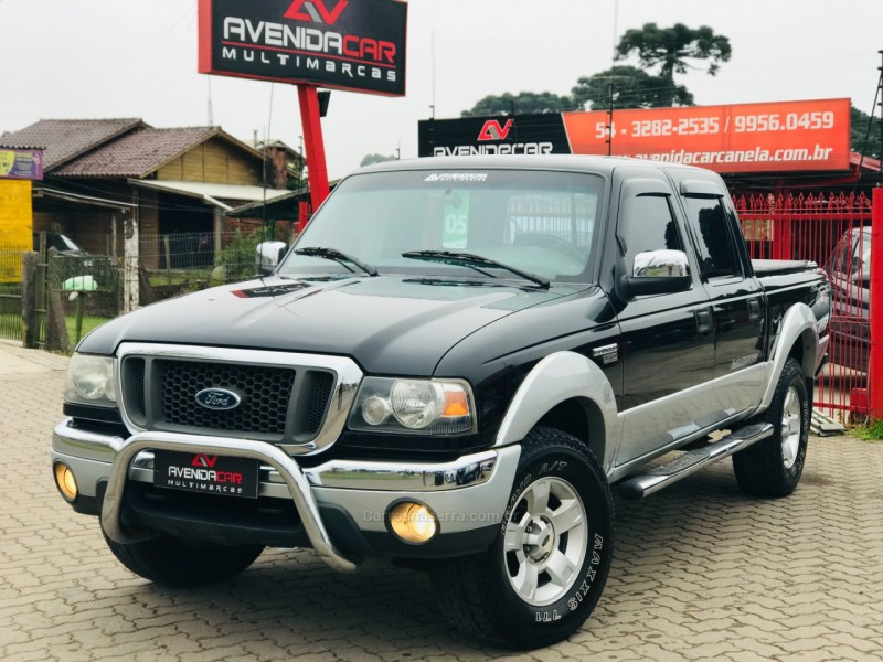 ranger 3.0 limited 4x4 cd 16v turbo eletronic diesel 4p manual 2005 canela