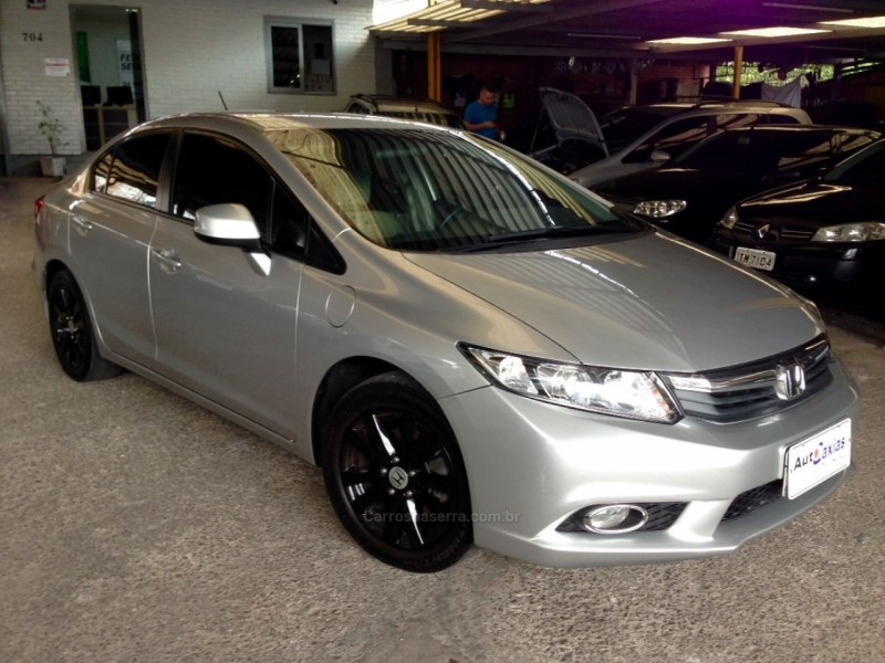 civic 1.8 lxs 16v flex 4p manual 2012 caxias do sul