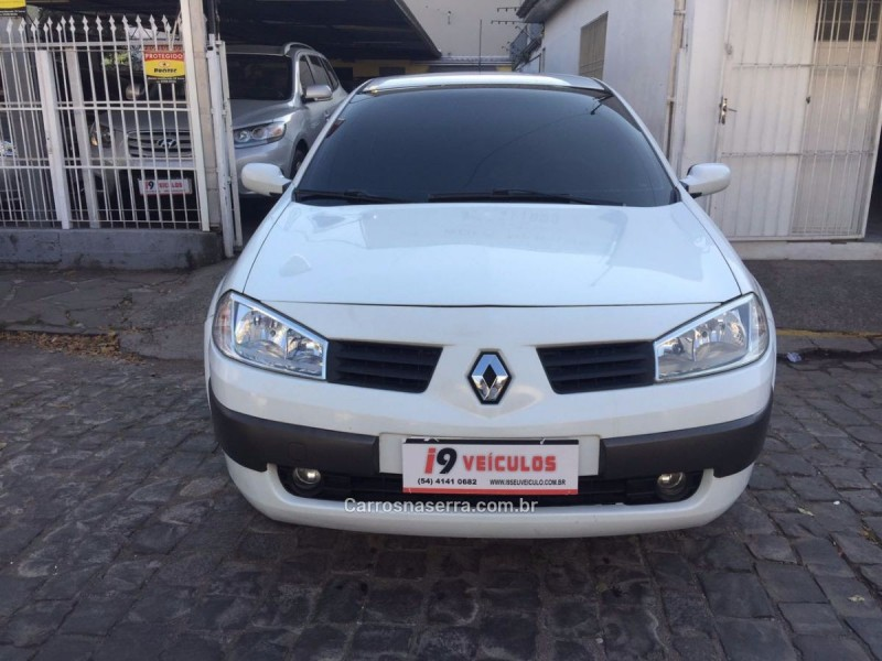 megane 1.6 expression 16v flex 4p manual 2007 caxias do sul