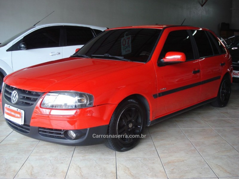 gol 1.6 mi power 8v flex 4p manual g.iv 2007 bento goncalves