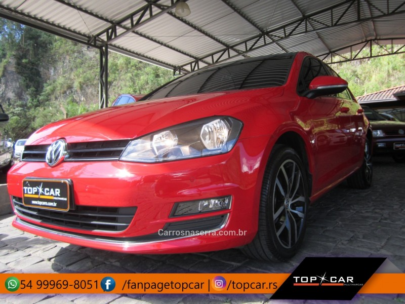 golf 1.4 tsi highline 16v gasolina 4p automatico 2014 carlos barbosa