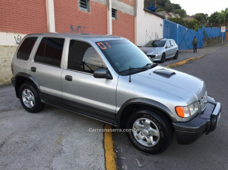 sportage 2.0 d 4x4 turbo intercooler diesel 4p manual 2001 caxias do sul