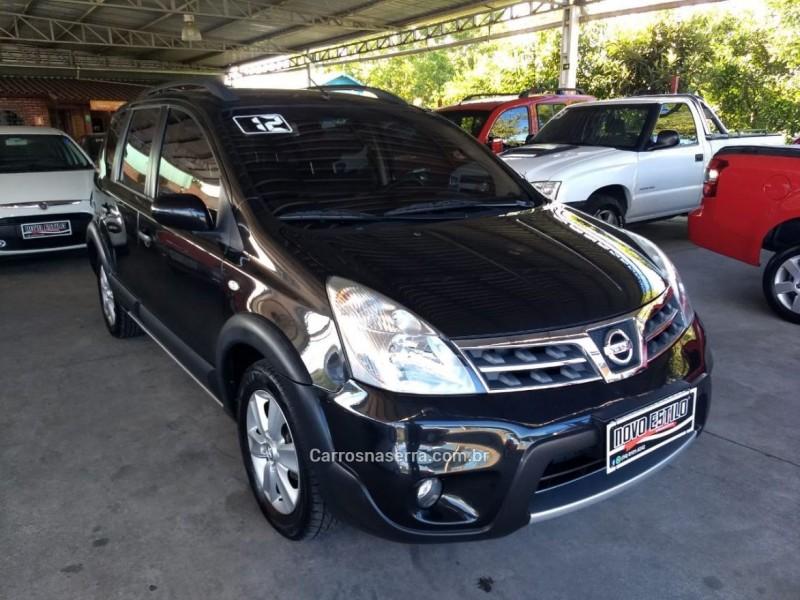 LIVINA 1.8 SL X-GEAR 16V FLEX 4P AUTOMÁTICO - 2012 - CAXIAS DO SUL