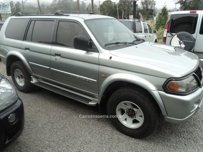 pajero sport 2.8 4x4 8v turbo intercooler diesel 4p manual 2001 farroupilha