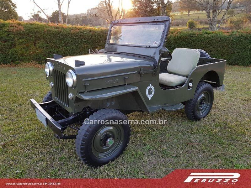 jeep 1954 nova prata