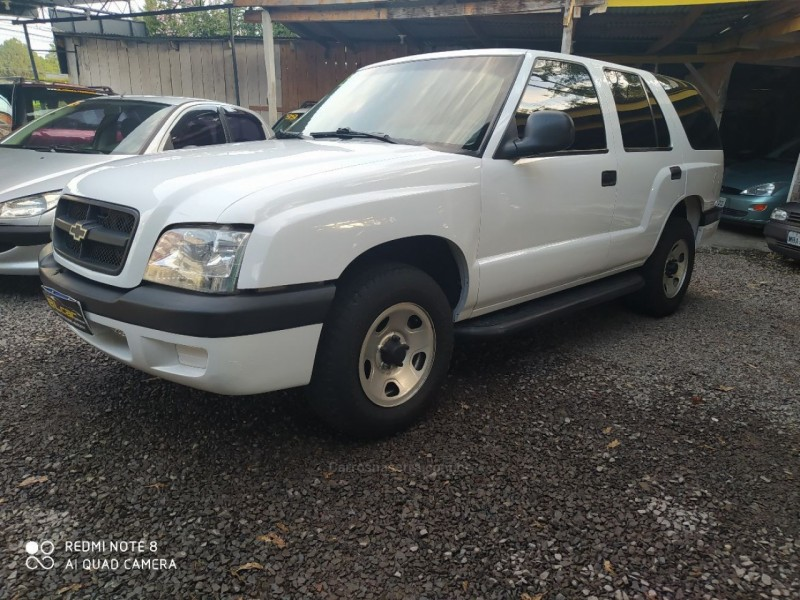 blazer 2.4 mpfi advantage 4x2 gasolina 4p manual 2008 caxias do sul