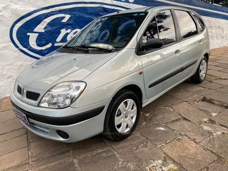 scenic 1.6 rt 16v gasolina 4p manual 2001 caxias do sul