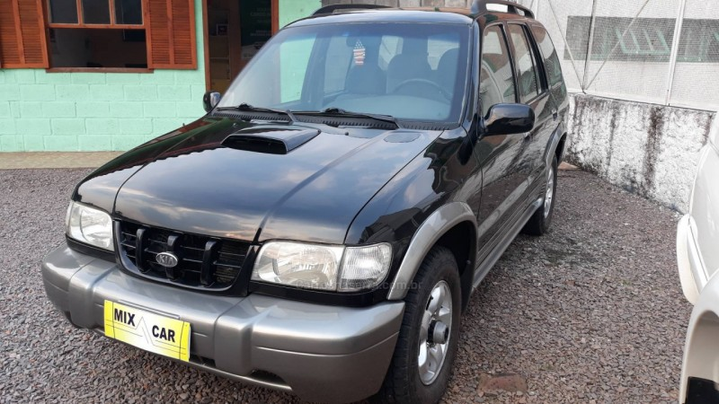 sportage 2.0 dlx grand 4x4 turbo intercooler diesel 4p manual 2003 caxias do sul
