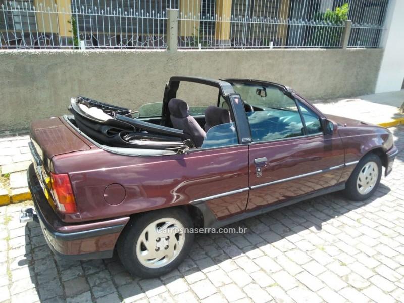 kadett 2.0 mpfi gsi conversivel 8v gasolina 2p manual 1995 bento goncalves