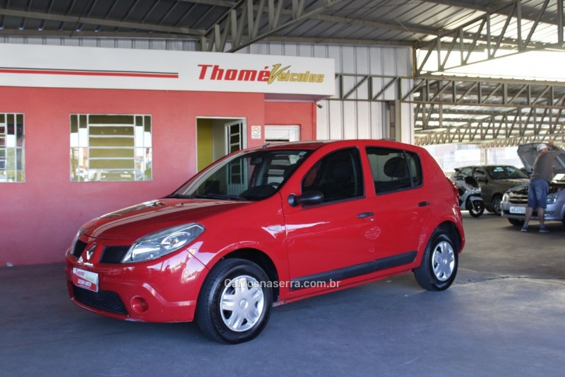 sandero 1.0 expression 16v flex 4p manual 2009 caxias do sul
