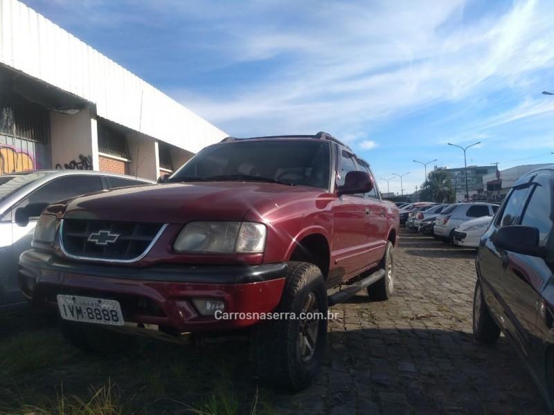 s10 2.4 mpfi std 4x2 cd 8v gasolina 4p manual 1999 caxias do sul