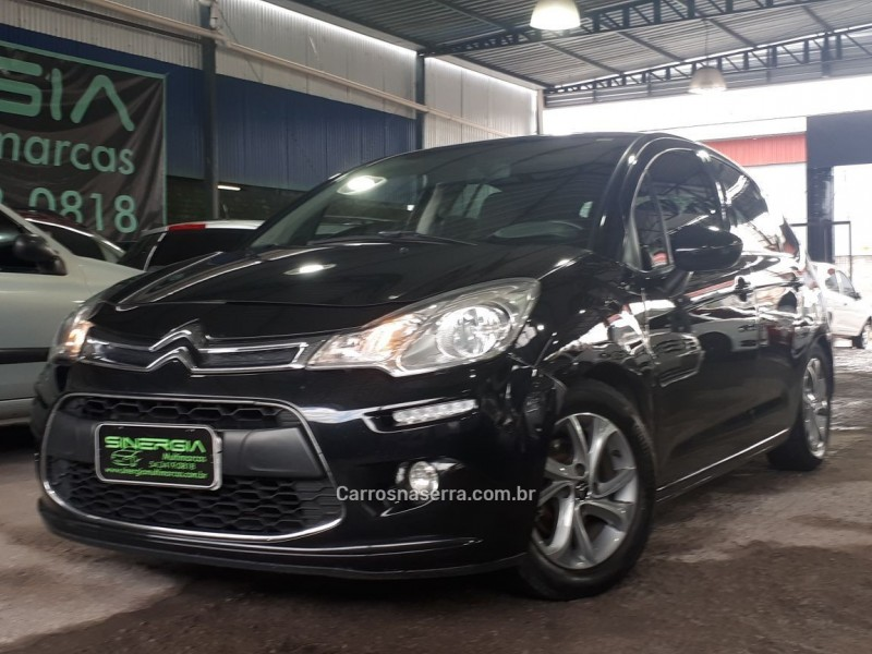 c3 1.5 tendance 8v flex 4p manual 2014 caxias do sul