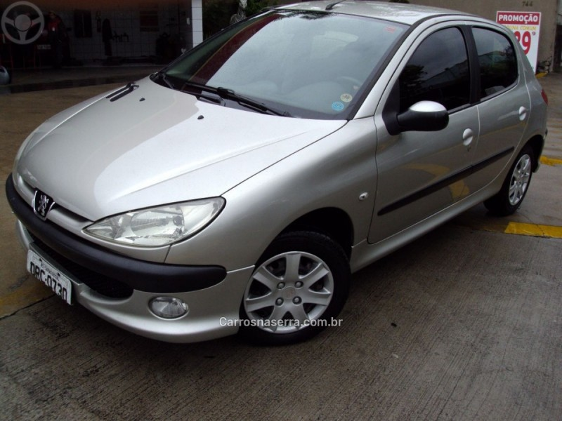 206 1.4 presence 8v flex 4p manual 2008 caxias do sul