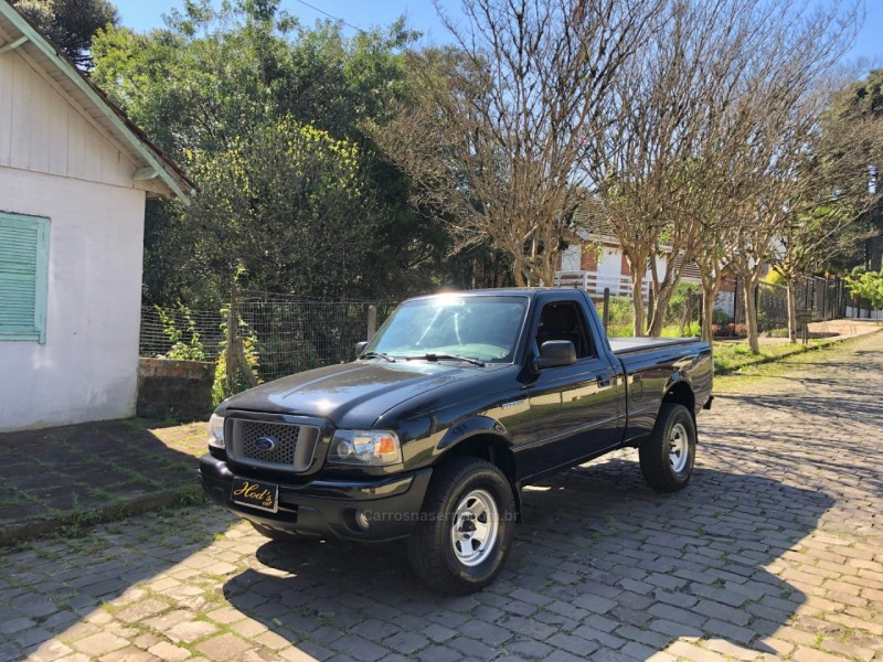 ranger 2.3 xls 4x2 cs 16v gasolina 2p manual 2008 canela