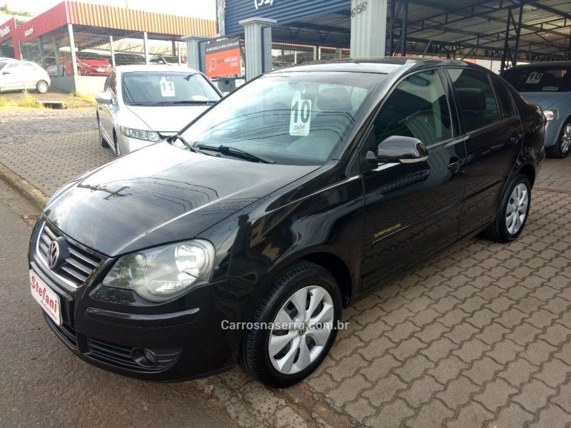 polo sedan 2.0 mi comfortline 8v flex 4p manual 2010 bom principio
