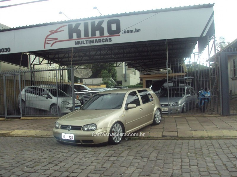 golf 1.6 mi 8v gasolina 4p manual 2001 caxias do sul