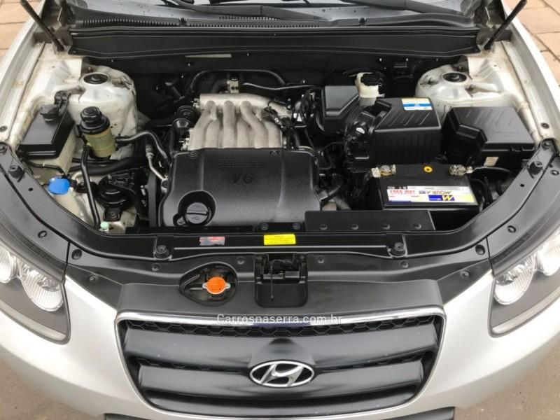 SANTA FÉ 2.7 MPFI GLS V6 24V 200CV GASOLINA 4P AUTOMÁTICO - 2010 - FARROUPILHA