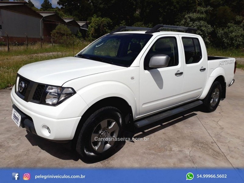 frontier 2.5 se attack 4x4 cd turbo eletronic diesel 4p manual 2012 bento goncalves