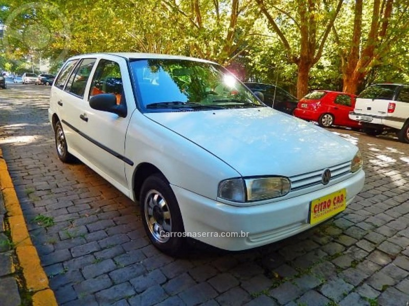 parati 1.6 mi cl 8v gasolina 4p manual 1999 caxias do sul