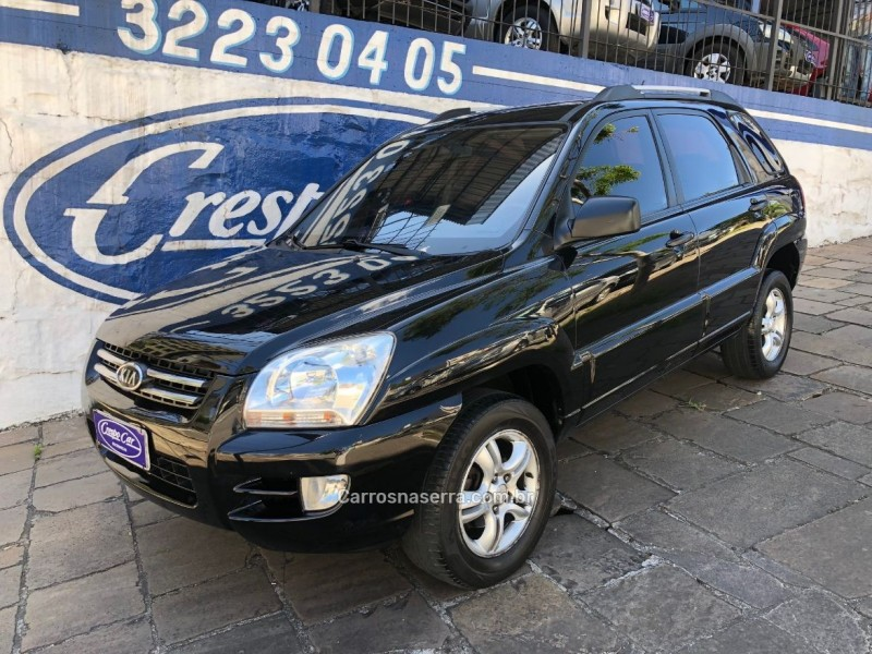 sportage 2.0 lx 4x2 16v gasolina 4p manual 2008 caxias do sul