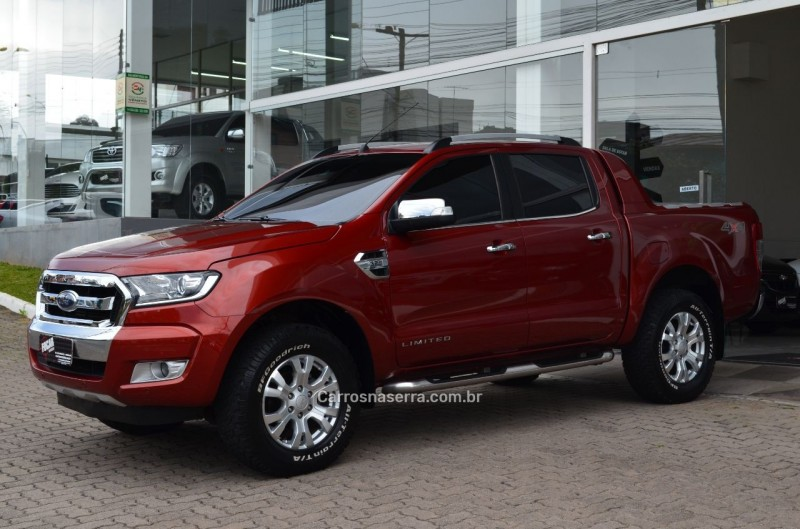 ranger 3.2 limited plus 4x4 cd 20v diesel 4p automatico 2017 caxias do sul