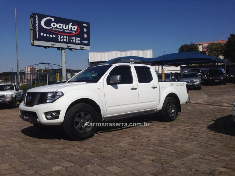 frontier 2.5 se attack 4x4 cd turbo eletronic diesel 4p manual 2015 farroupilha