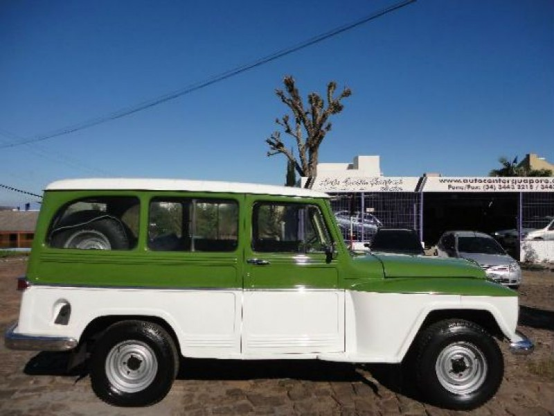 rural 2.6 4x2 6 cilindros 12v gasolina 2p manual 1973 guapore