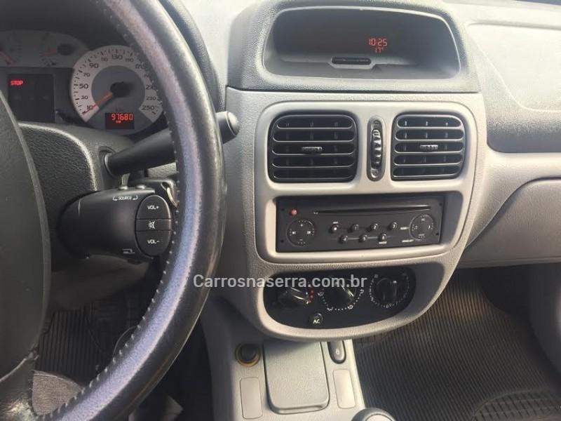 clio 1.6 privilege sedan 16v gasolina 4p manual 2008 caxias do sul
