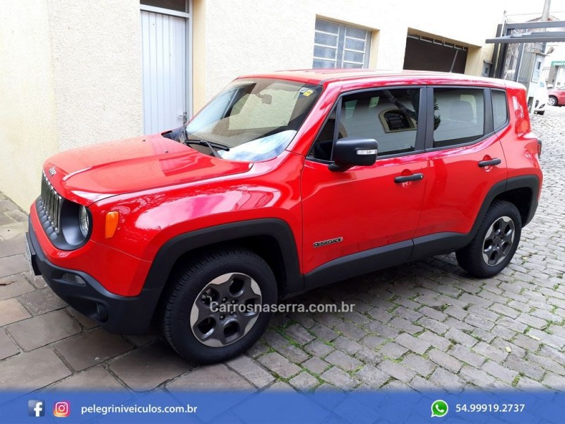 renegade 2.0 16v turbo diesel sport 4p 4x4 automatico 2016 bento goncalves