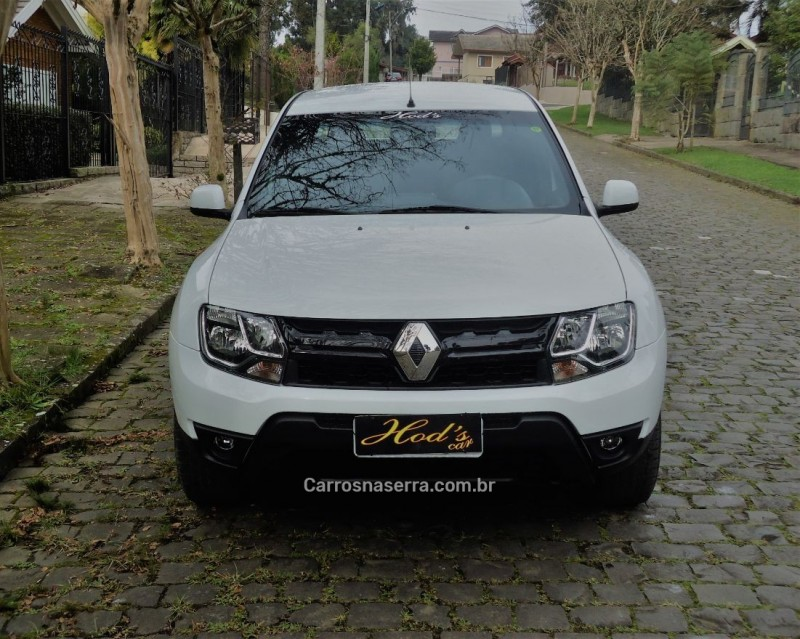 duster oroch 1.6 16v flex expression 4p manual 2018 canela