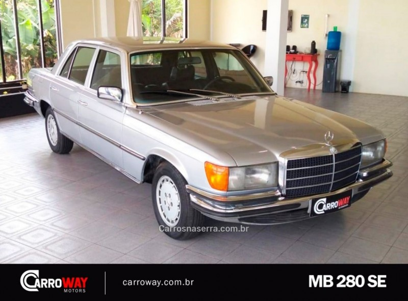 280 se 2.8 6 cilindros gasolina 4p manual 1974 feliz