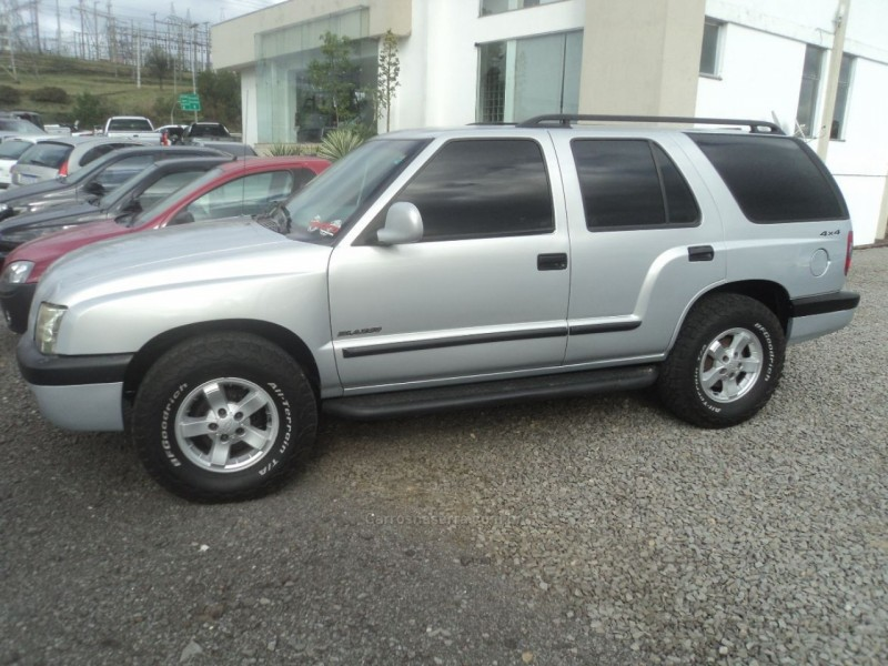 blazer 2.8 dlx 4x4 12v turbo intercooler diesel 4p manual 2001 farroupilha