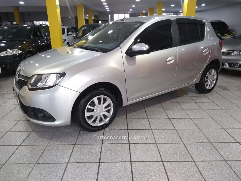 sandero 1.6 expression 8v flex 4p manual 2016 caxias do sul