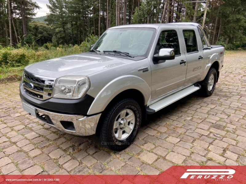 ranger 3.0 limited 4x4 cd 16v turbo eletronic diesel 4p manual 2010 nova prata