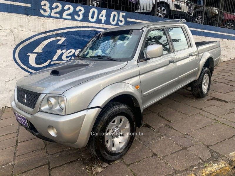 l200 2.5 gls hpe 4x4 cd 8v turbo diesel 4p manual 2005 caxias do sul