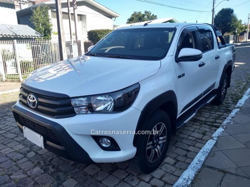 hilux 2.8 sr challenge 4x4 cd 16v turbo diesel 4p automatico 2018 bento goncalves