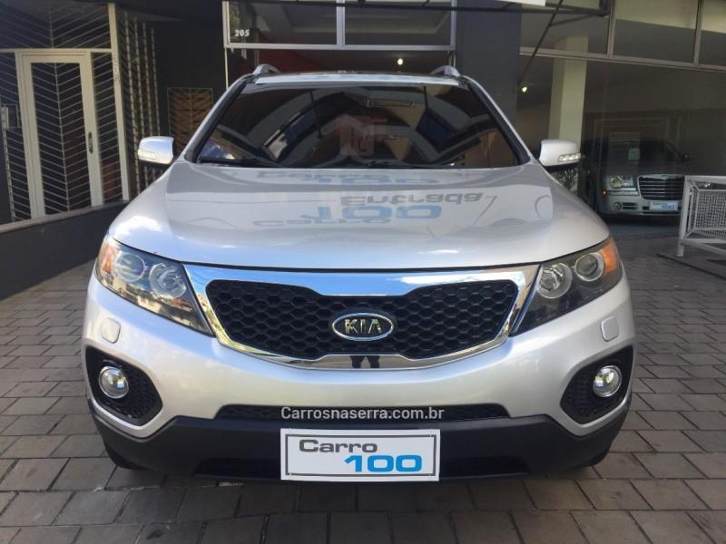 sorento 3.5 s.670 v6 4x4 24v gasolina 4p automatico 2012 caxias do sul