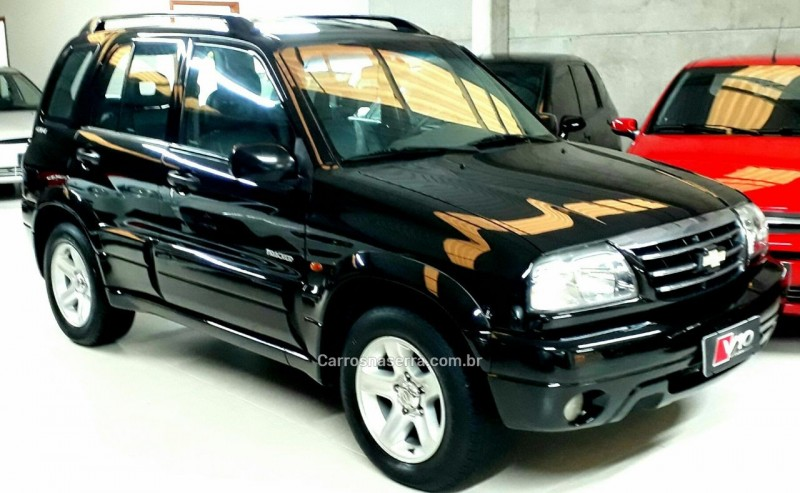 tracker 2.0 4x4 16v gasolina 4p manual 2007 caxias do sul