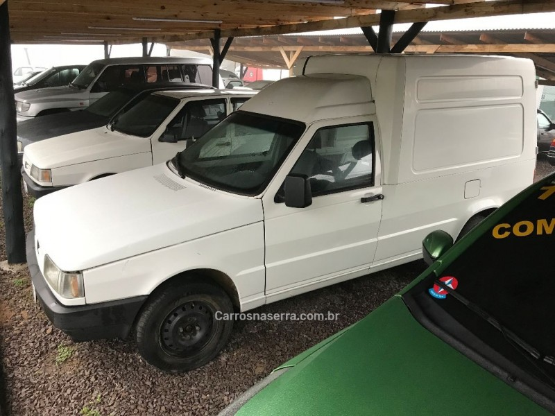 fiorino 1.5 ie furgao 8v gasolina 2p manual 2000 caxias do sul