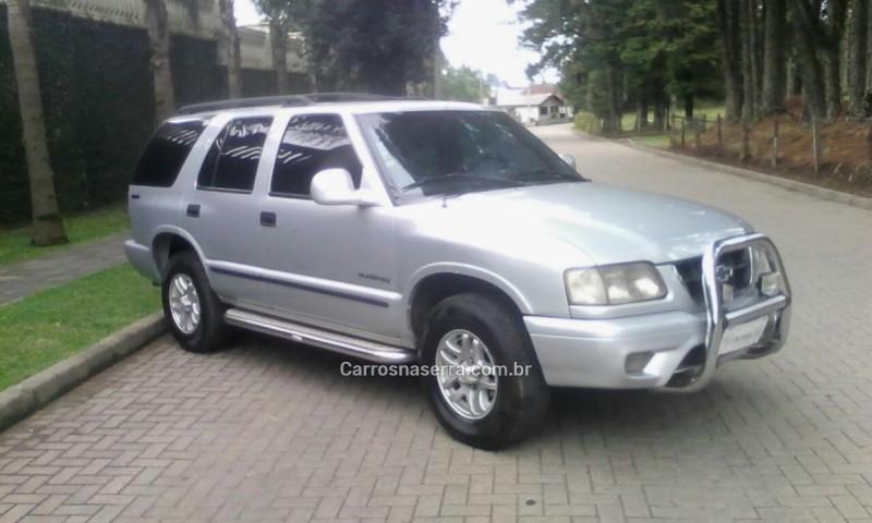 blazer 2.5 dlx 4x4 8v turbo diesel 4p manual 2000 caxias do sul