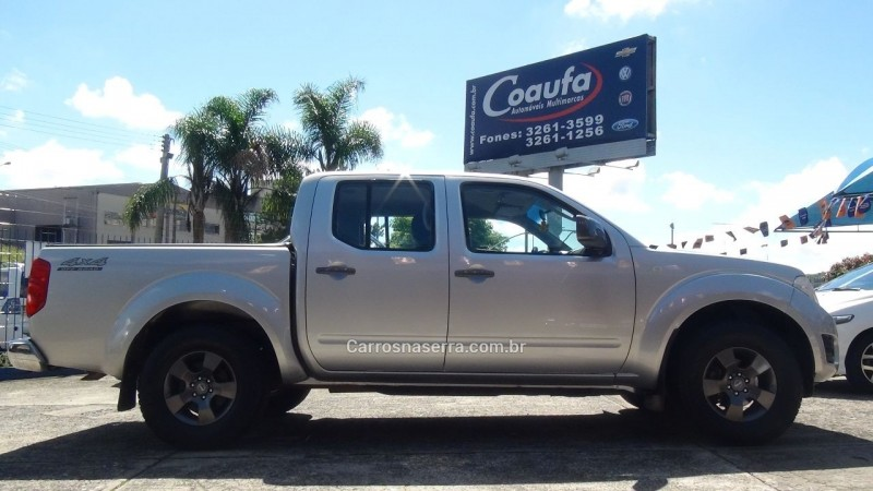frontier 2.5 sel 4x4 cd turbo eletronic diesel 4p manual 2015 farroupilha