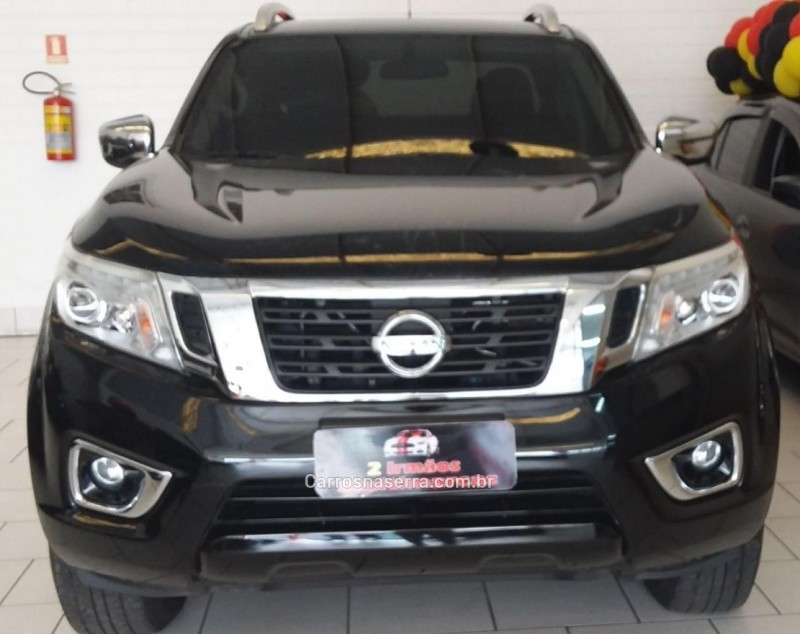 frontier 2.3 le 4x4 cd bi turbo diesel 4p automatico 2018 dois irmaos