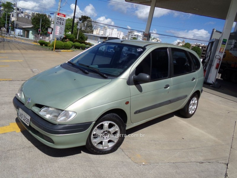 scenic 1.6 rt 16v gasolina 4p manual 2000 caxias do sul