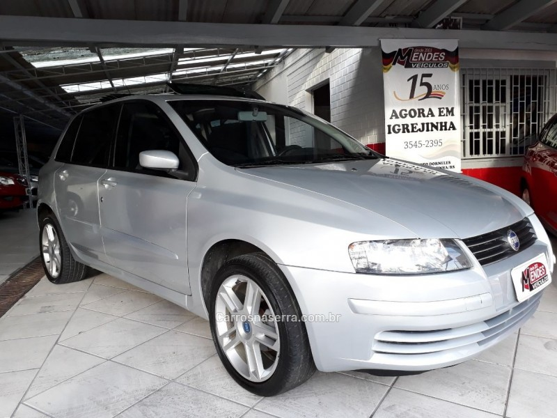 stilo 1.8 mpi sporting 8v flex 4p manual 2007 tres coroas
