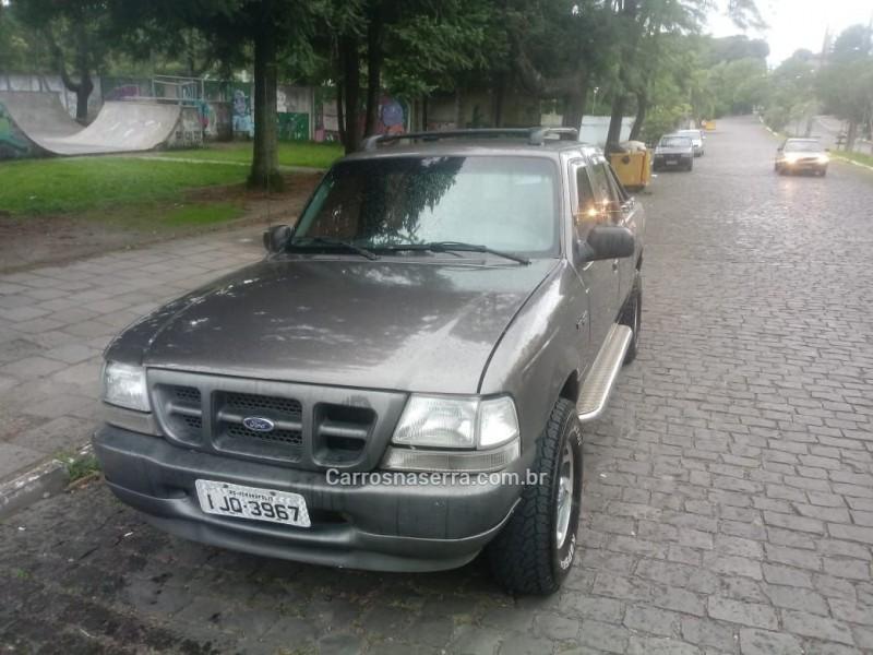 ranger 2.5 xl 4x4 cd 8v turbo intercooler diesel 4p manual 2001 farroupilha