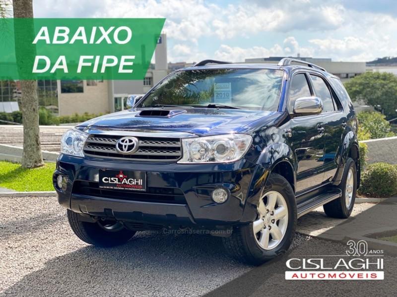 hilux sw4 3.0 srv 4x4 7 lugares 16v turbo intercooler diesel 4p automatico 2010 carlos barbosa