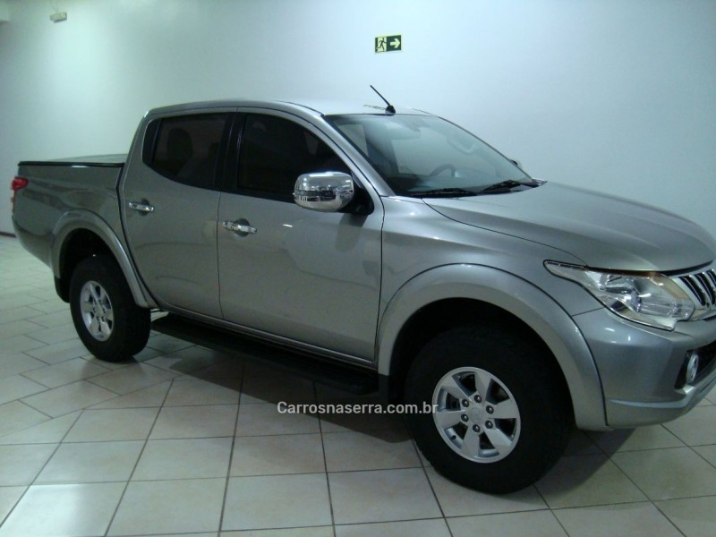 l200 triton 2.4 16v turbo diesel sport hpe top cd 4p 4x4 automatico 2017 bento goncalves