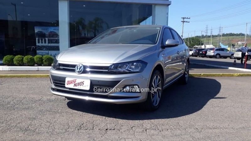 virtus 1.0 200 tsi highline automatico 2019 caxias do sul