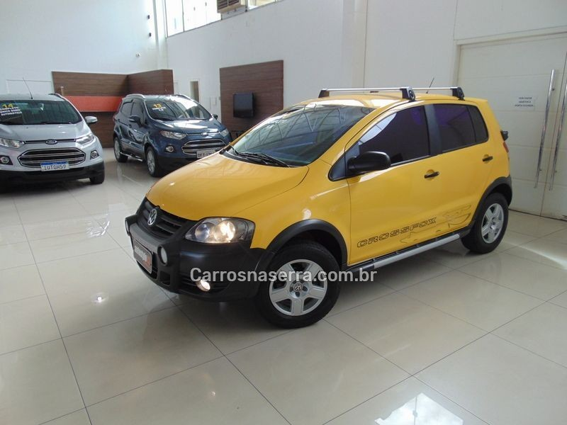 crossfox 1.6 mi flex 8v 4p manual 2010 taquara