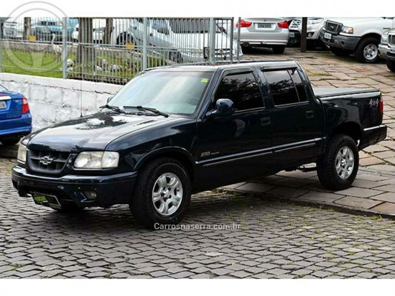 s10 2.5 dlx 4x4 cd 8v turbo diesel 4p manual 1999 caxias do sul